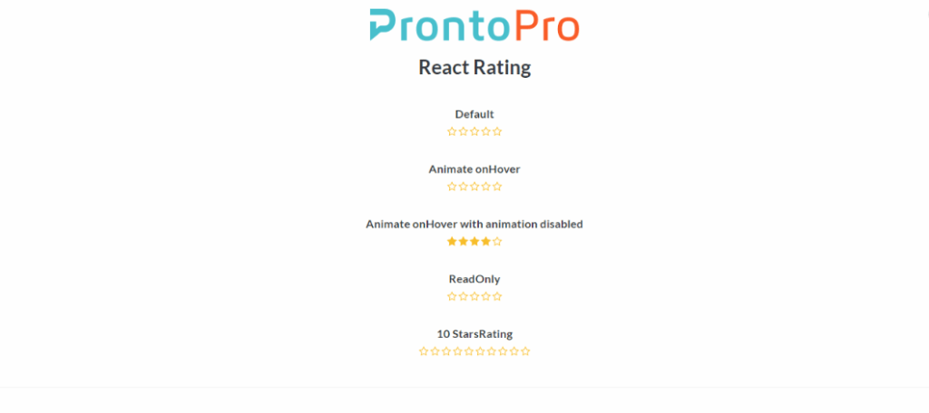 React Rating