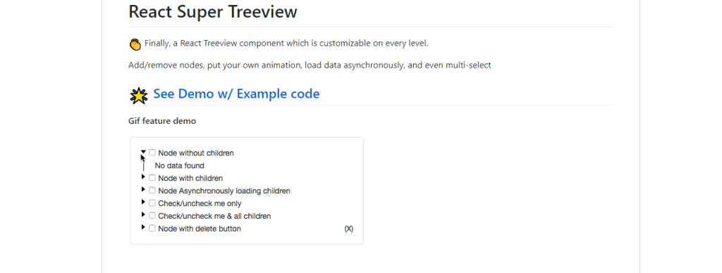 Super Treeview