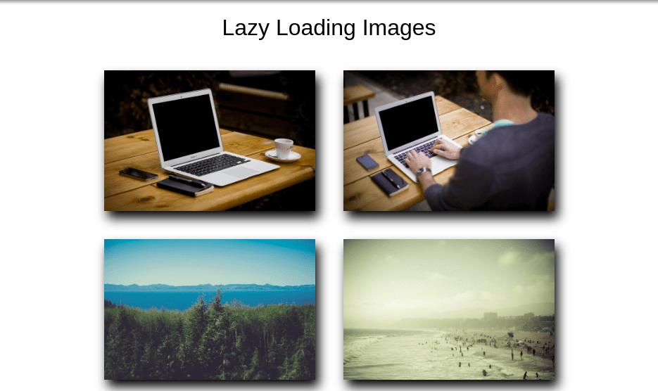 Lazy Load Vanilla Javascript