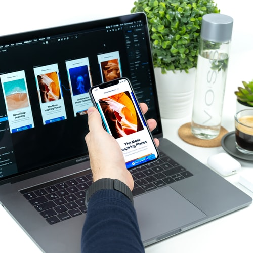 UI design vs UX design