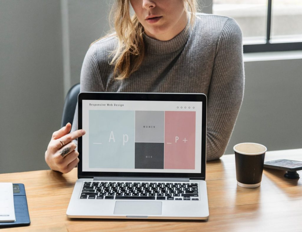 UI mobile app and website design
