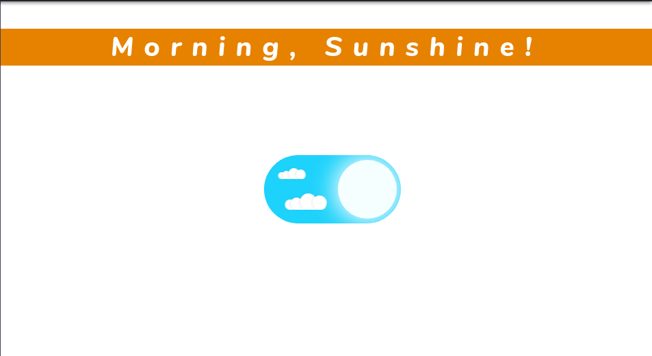 Day and Night Toggle html