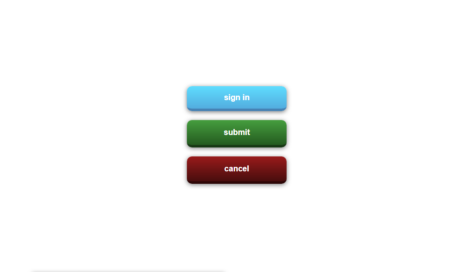 3d button type example