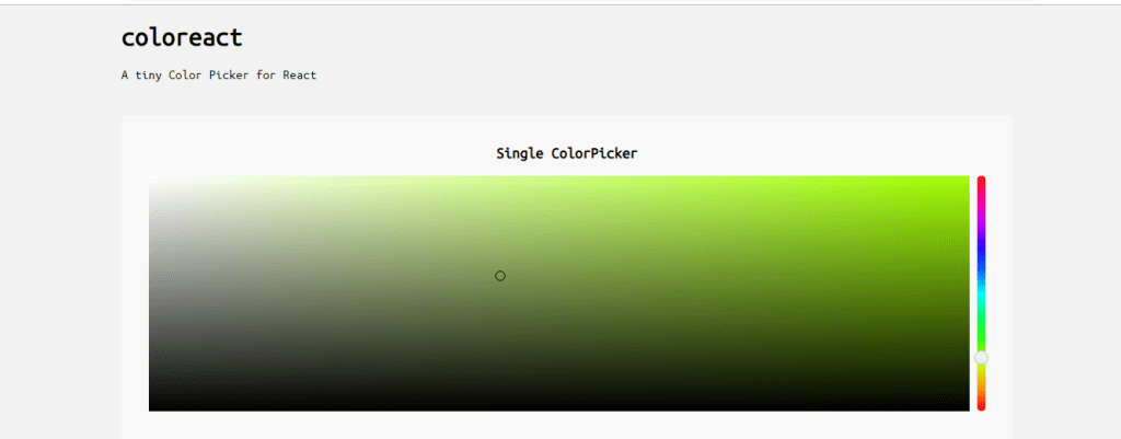 react color picker example