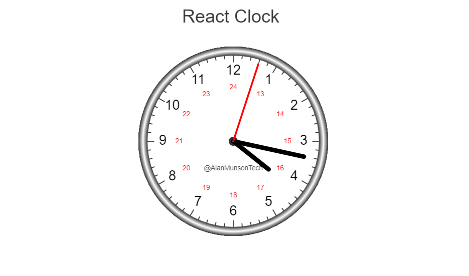 analog clock example