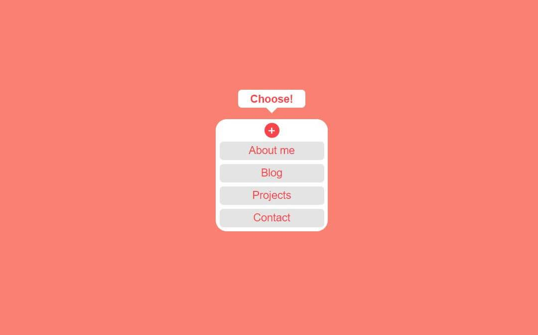 Toggle Menu CSS Examples