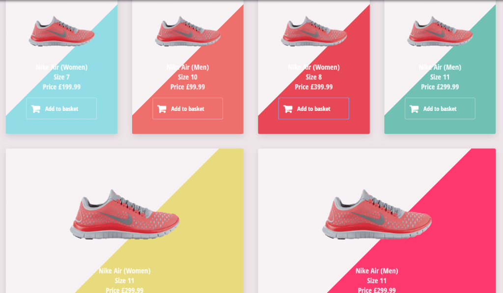 flexy product card design for shopify with css