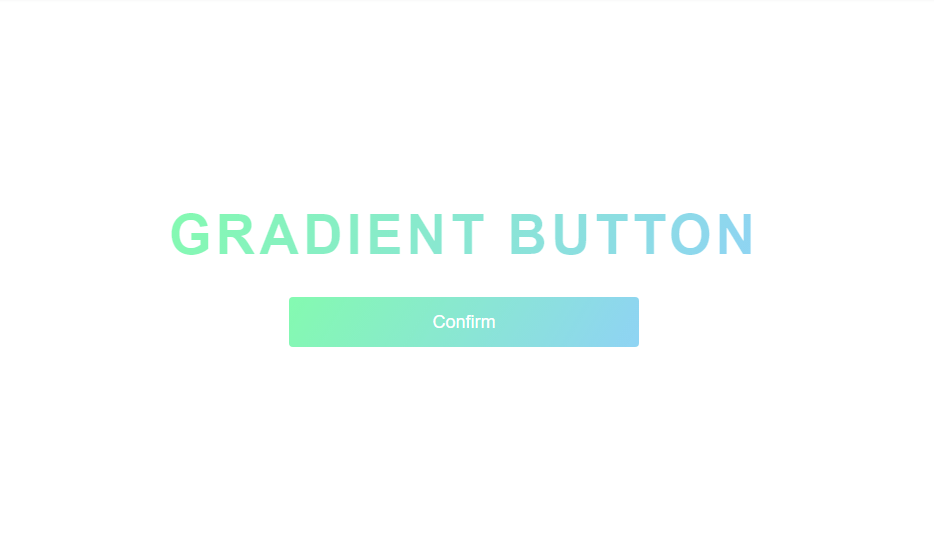 gradient button with css examples