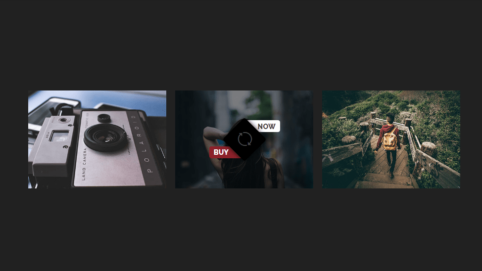 image hover effect with icon
