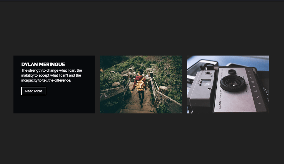 image hover effect using css and js