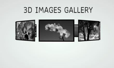 16 CSS 3D Image Gallery Effect Great Examples