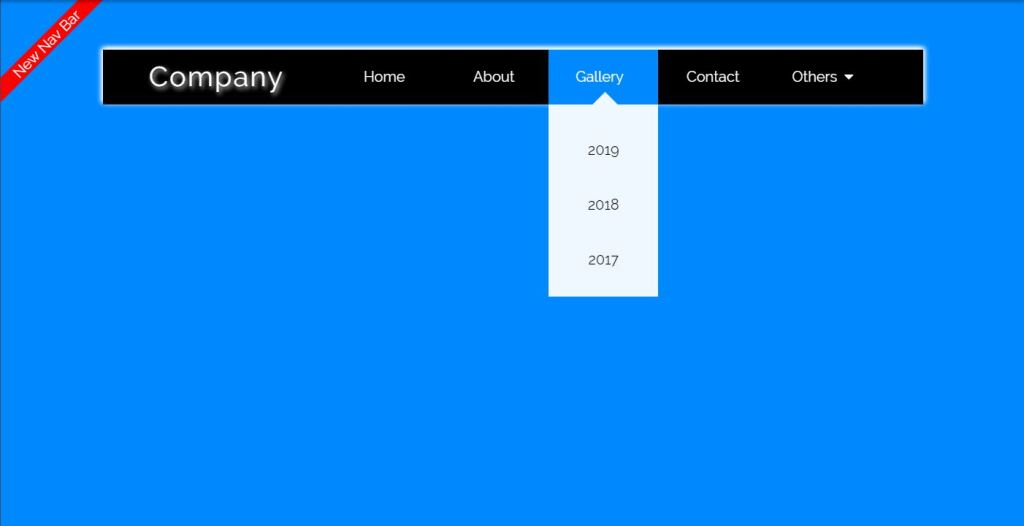 Nav bar/navigation menu HTML CSS dropdown menu