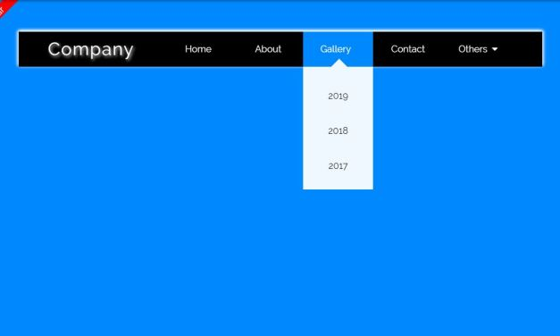 19 Awesome Navbar CSS Examples with Code Snippet