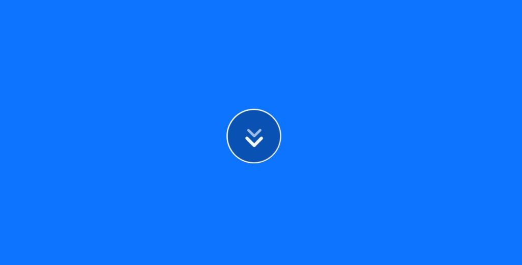 animated scroll down arrow animation html css js