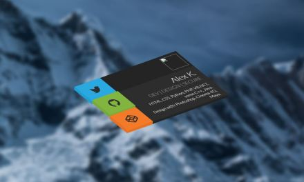 20+ CSS Business Card UI Design Examples