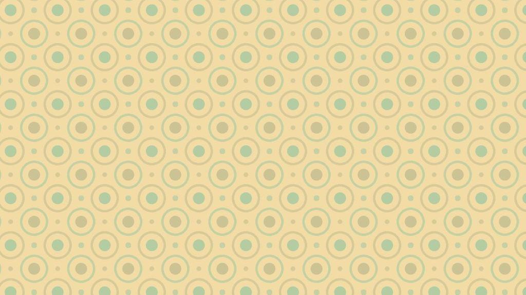 circles and dottes web pattern