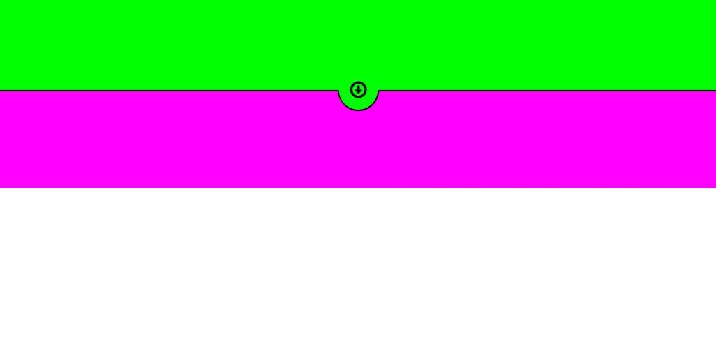html css divider circle