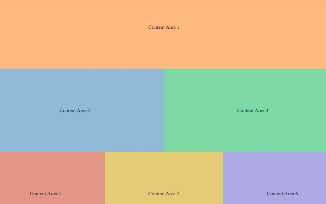 Responsive Div CSS Layout Examples