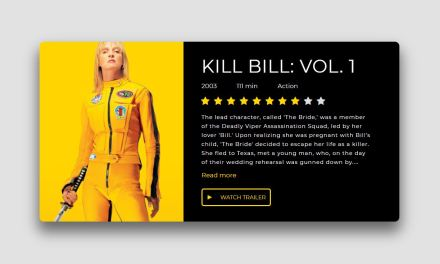 12+ Cool CSS Movie Card Examples