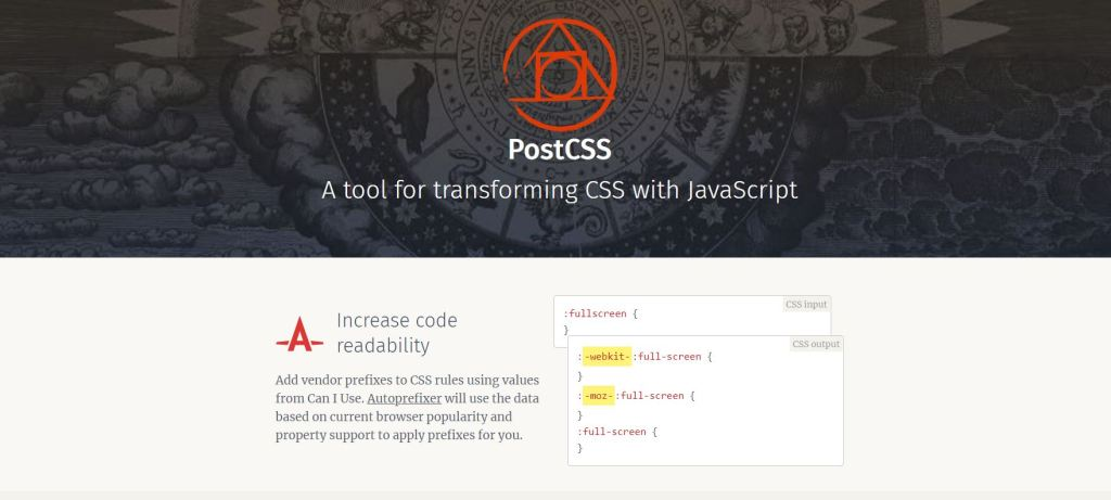 css preprocessor online PostCSS