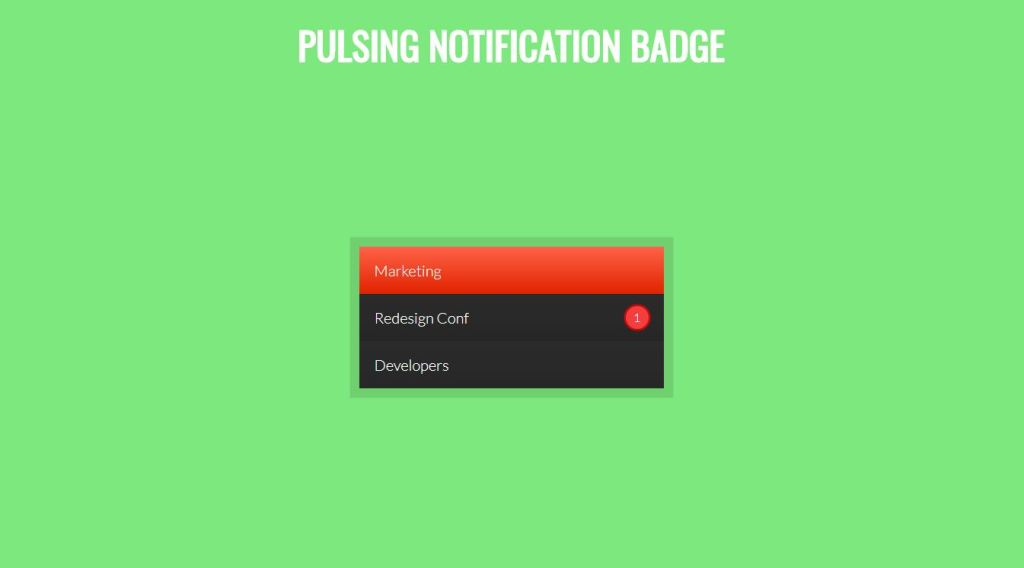 notification box like toast message to notify user using CSS, HTML, bootstrap
