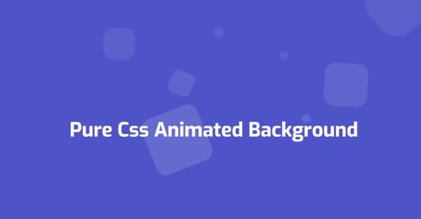 20+ CSS Background Animation Examples [Pure CSS] - OnAirCode
