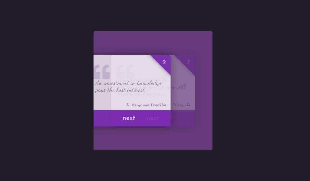 css quote style