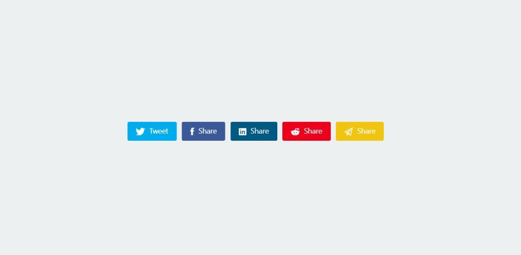 facebook instragram floatin social media share button css
