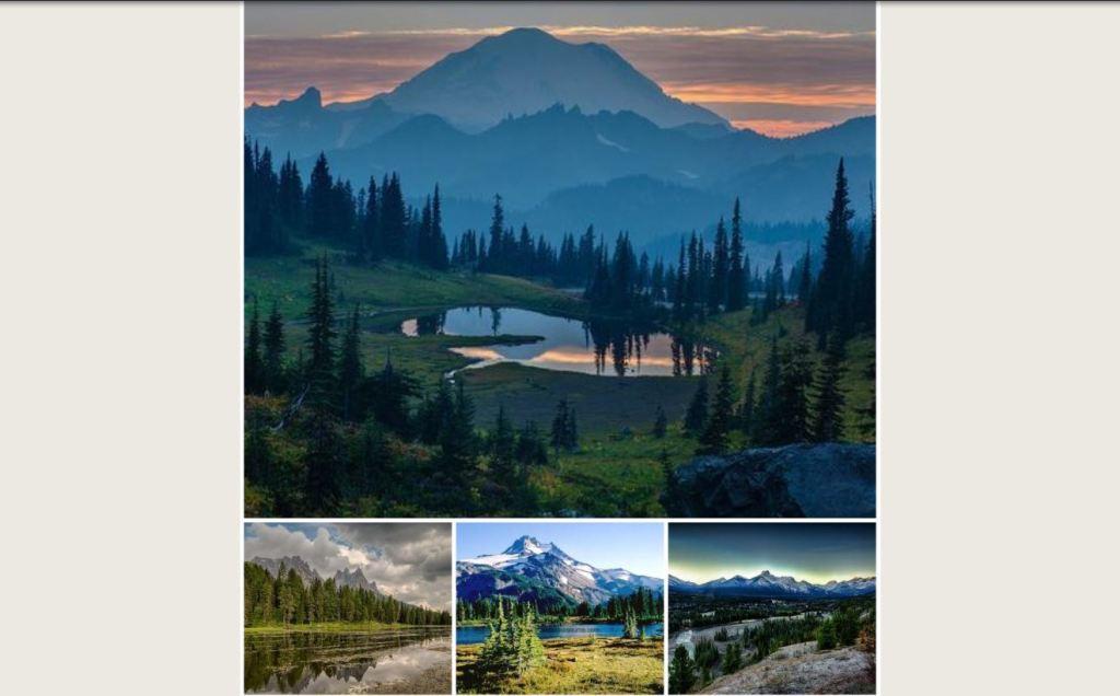 Tumblr Photogrid/Photoset with Flexbox Image gallery