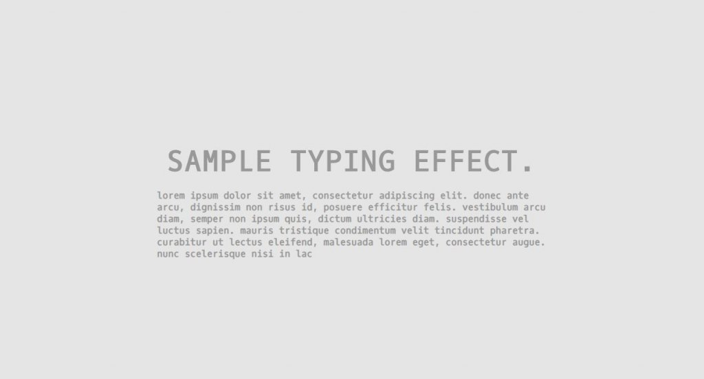effect typing