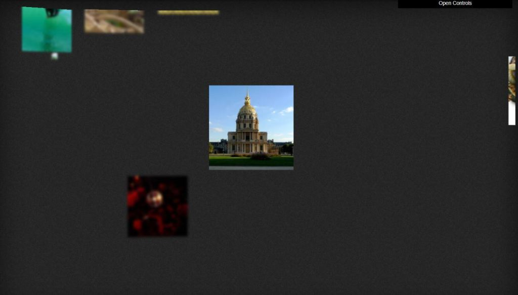 3D Bootstrap Image Gallery
