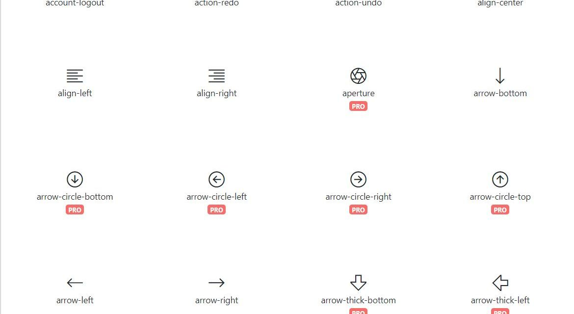 Awesome Bootstrap Glyphicons Icon Sets