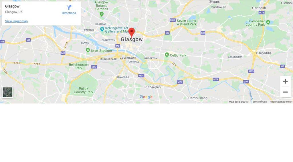 responsive bootstrap google map examples
