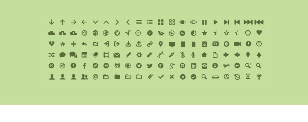 Mfglabs Bootstrap icon