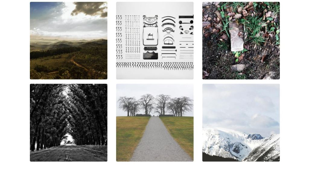 Bootstrap 4 Lightbox gallery