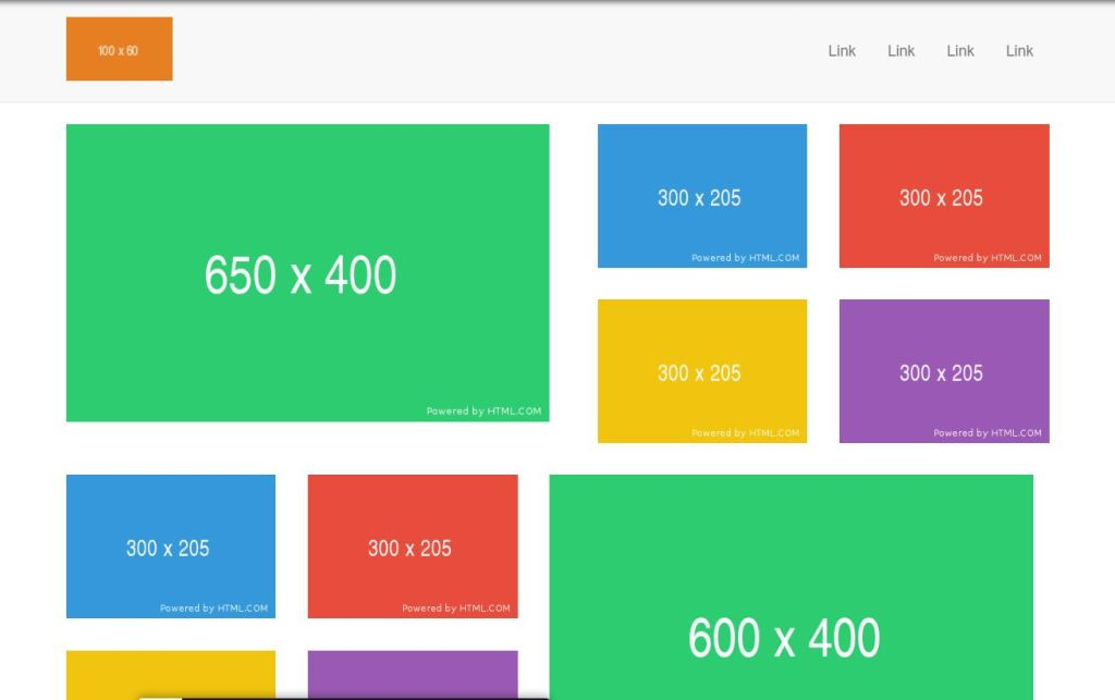 Bootstrap Image Grid systems with Columns
