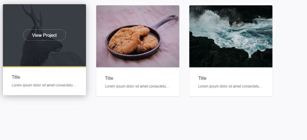 Design Hover Effects Example