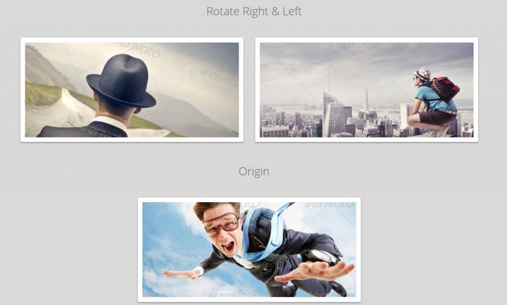 Image hover effects examples