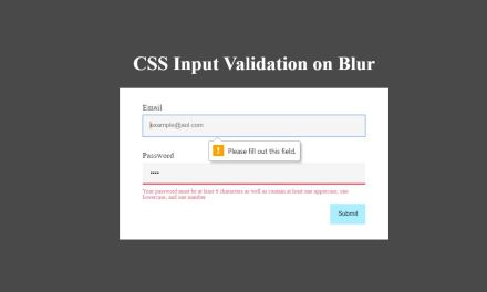 15+ Bootstrap Form Validation Examples Code Snippet