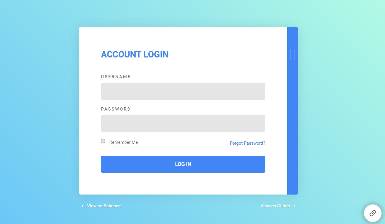 bootstrap 4 login design - Lazor