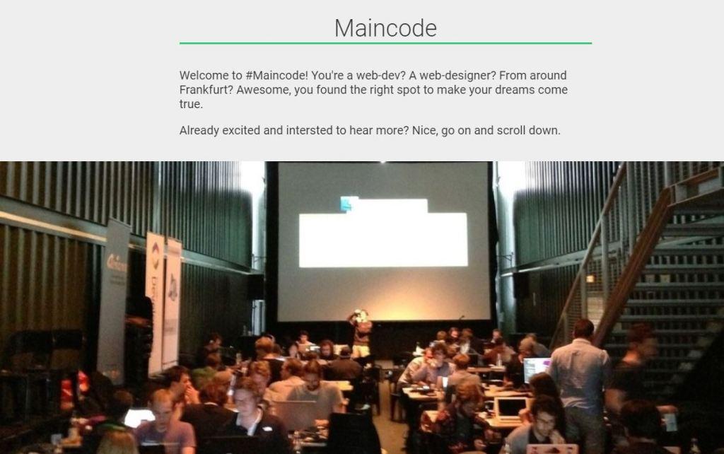 maincode hackdays