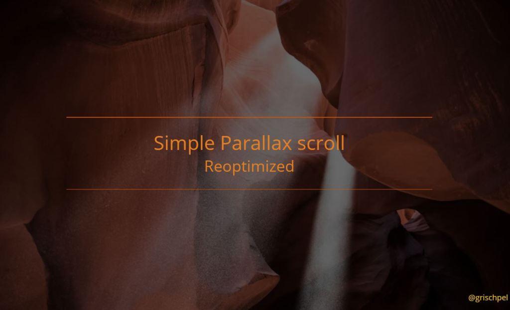 bootstrap parallax effect