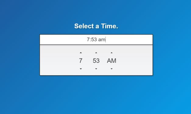17+ Bootstrap Timepicker Examples Code Snippet