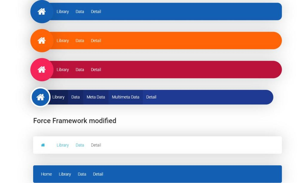 Style Modified CSS