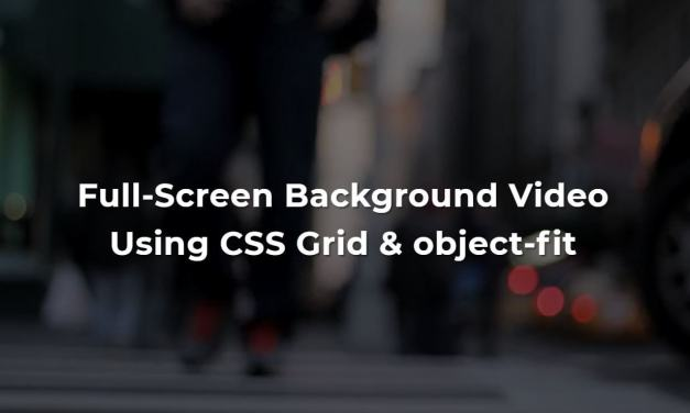 8+ Bootstrap Video Background Examples