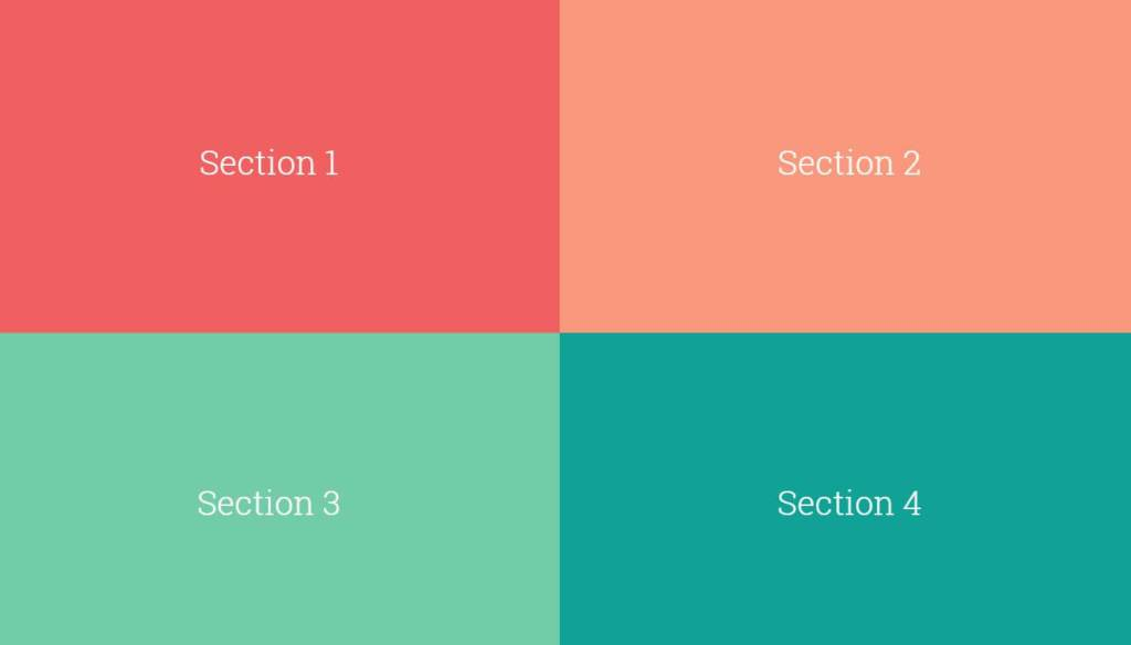 Fullscreen Bootstrap page transitions effect