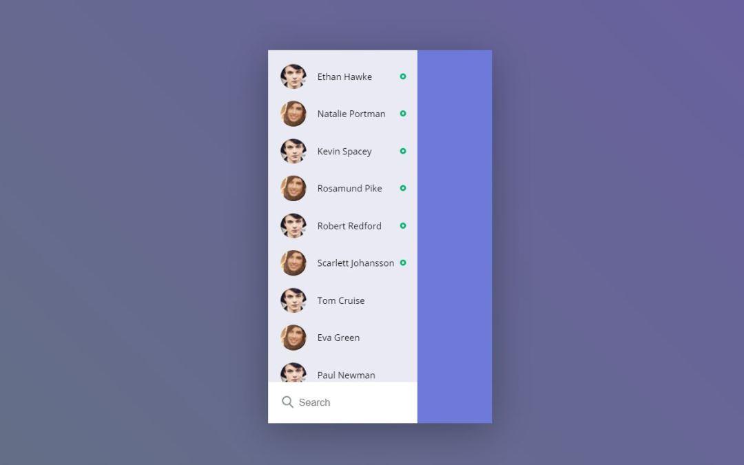 20+ JavaScript Sidebar Menu Code Examples