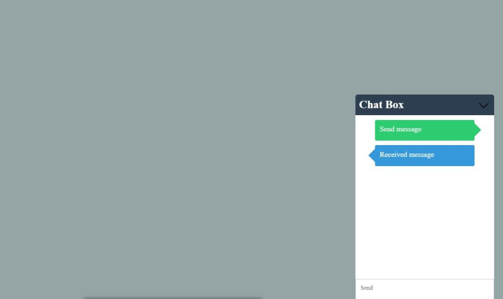 Facebook Like Chat
