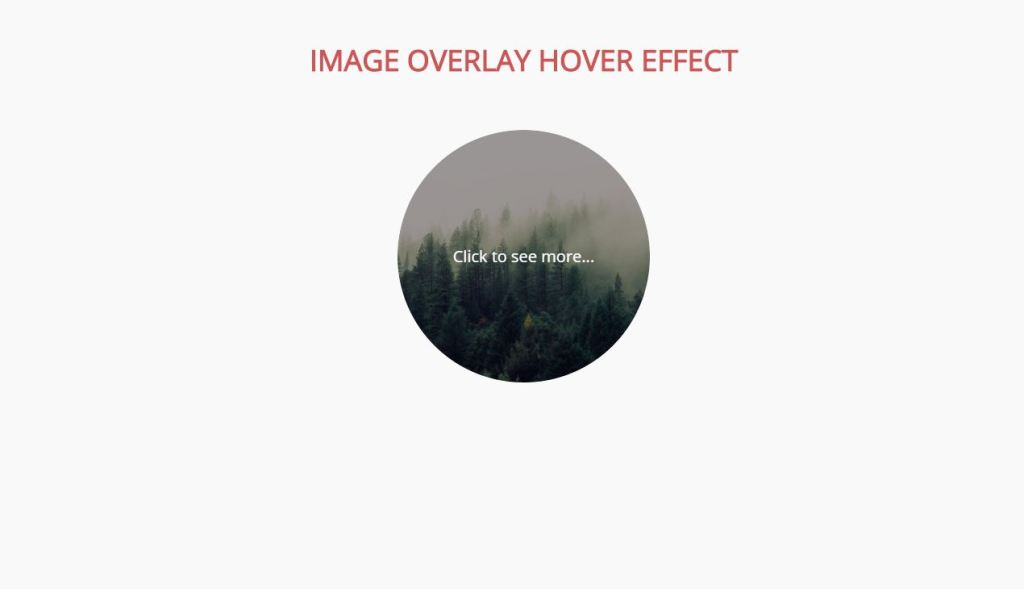 Bootstrap Image Overlay effect on hover