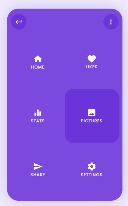 JavaScript mobile Nav menu Animation example